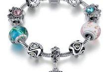 ♥ Positively Charming -Bracelets / Really pretty charm bracelets!