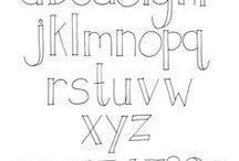 Fonts / Graphic research