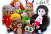 Вязаные куклы и игрушки от Lan4ik. / В моём магазинчике Вы найдёте уникальные,  вязаные игрушки ручной работы, для себя и для детей,для любого случая.  Приглашаю -- https://vk.com/igrushka_vjazanaja