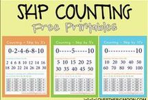 Homeschool Math Skip Counting