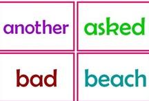 Homeschool Sight Words and Phonics