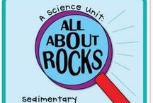 Homeschool Science Geology / rocks, minerals, land formations