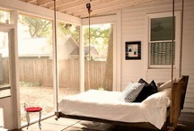 Sleeping Porches and Hot Southern Summers / sleeping porch, porch decor
