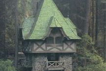 True Fairytales / charming old world homes, fantasy homes, wish they made homes like that.