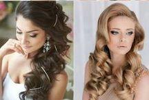 Penteados | Noivas e Festas / Penteados para festas, noivas, madrinhas e convidadas.