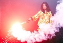 The monster - Art / smoke - smoking - vapor - vapour - sparkler