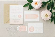 PAPER GOODS / Need some inspiration for your wedding invitations? Find some of our favorite looks and ideas here!
