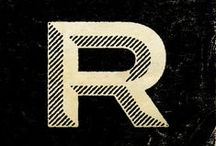 TYPE / Typographical gems, the A-Z of typeface cool.