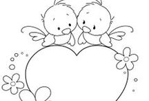 Coloring Pages / Coloring pages from across the web. Perfect for the niece and nephew!