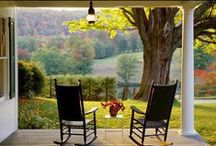 Porches / outdoor living space; traditional; historical