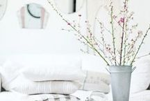 White & Neutral Decor / neutral & white home decor