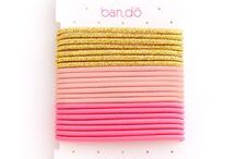 ban.do hair accessories / our sparkly sister company / by Lifeguard Press