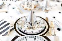 New Year's Eve / New Year's Eve and New Year's Day party ideas.
