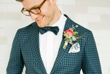 GROOM / Dapper inspiration for our handsome grooms!