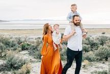 FAMILY / Inspiration for family photo sessions. We love candid, natural photos that really reflect the love and dynamic of your sweet family.