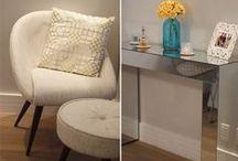 Meu Apartamento / Bruna Dalcin do blog Comprando meu Apê abre as portas do seu primeiro apartamento como inspiração de decoração pra vocês!