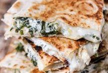 Quesadillas / Just make yourself a dang quesa-dilluh!