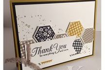 Pick Me!!! / These are sample projects I gathered to showcase my mad stampin' skills as I compete for a coveted spot as a display board stamper at an upcoming Stampin' Up OnStage event.