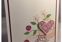 I Hope I Pass the Audition / I'm hoping these projects will WOW the folks at Stampin' Up so that I can be a display board stamper at the OnStage event in Salt Lake City in November.