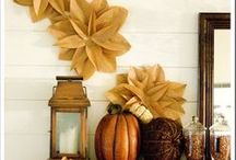 Thanksgiving/ Fall / by Melissa Grein