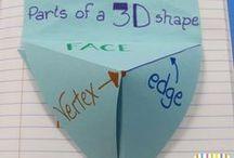 Matematica - Math / Attività, materiali da scaricare e giochi per imparare la geometria e la matematica