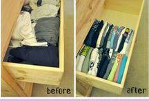 Organizzazione - Organizer / Idee e materiale per organizzare la casa, la scuola e il lavoro