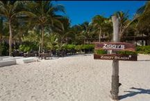 The adjoining Restaurant & Beach Club Ziggy's  / Our guest enjoy their free breakfast at Ziggy's every morning from 7am-12pm.