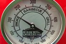Grills / Cool grills and smokers  .  Big or small smoke 'em all.