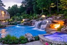 Outdoor Patios, Gardens & Pools / by Lori Timm
