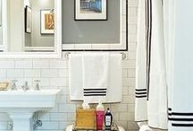 Ideas for the guest bath / by Melissa Grein
