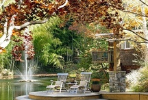 outdoor living / by Katherine Lange