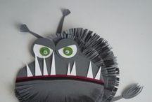 Monster, Robot, Alien und space / Attività, materiali da scaricare e giochi su mostri, alieni e robot