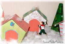 Christmas town / Idee per realizzare presepi e villaggi natalizi