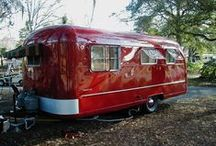 Vintage RV  / camping, traveling, sightseeing seems so much cooler in an old RV