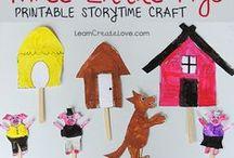 Libri in gioco - book activities / Attività, materiali da scaricare e giochi partendo dai libri per bambini