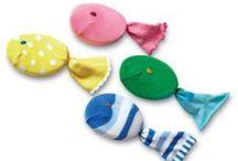 Calze creative - socks craft / Lavoretti e craft da fare con le calze