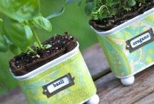 Giardino creativo - garden ideas / Attività, materiali da scaricare, esperimenti e giochi da fare in giardino con i bambini