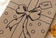Fiocchi, biglietti e carta regalo - Wrapping / by Paola Homemademamma
