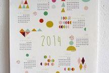 Calendari creativi / Calendar / calendari e planner da scaricare