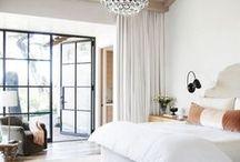 bedrooms / by Katherine Lange
