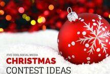 Social Media at Christmas / How Christmas is celebrated on social media.