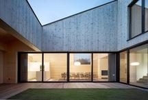 modern houses / by frieda 's favorites