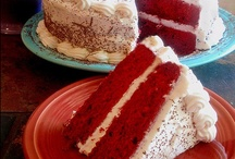 Retro RED VELVET! / Red velvet in all it's delicious forms..... / by DKM in Goliad