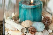 ~ Beachy Candles ~