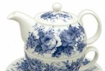 Tea Time / I have a nice collection of tea pots of my own but on here I can have some that I can't have. Fun