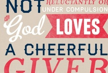 Cheerful Giver / by Randi Overby