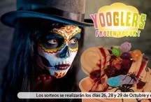 Yooglers,¡¡Halloween helado!! / Calabazas, muertos vivientes, murciélagos, arañas.... Sorpréndenos con tu lado más malvado y te llevarás un Yoogler gratis!