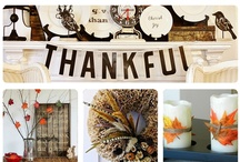 Happy thanks giving , food or fun things / by Mary Apple