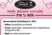 Pin to Win: Simply Delicious Everyday / Pin it to Win it:  Simply Delicious Everyday #TSSimplyDelicious