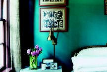 COLOR / how to use color well in interiors + color inspiration + color palettes